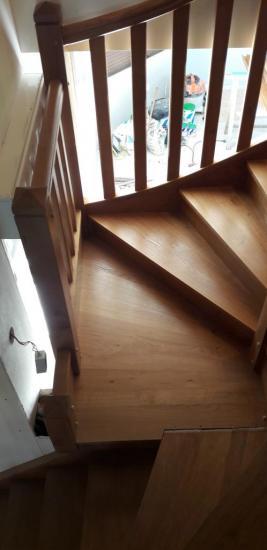 escalier enchêne