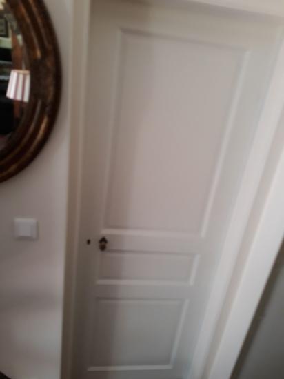 Porte intérieur hêtre peint